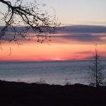 Sunset at Eagle Lodge