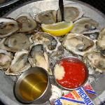 The oysters from the raw bar.