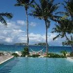 piscina e spiaggia novotel