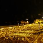 oura beach by night