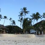 Vista del Resort dalla spiaggia