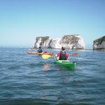 Sea kayaking tours of Old Harry Rocks