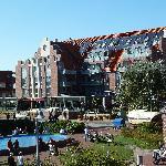 Hotelansicht vom Kurplatz aus gesehen