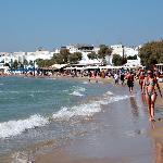 Lækker strand i Naxos
