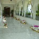 l'entrée de la thalasso