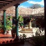 PATIO PRINCIPAL HOSPEDERIA EL MARQUES DE SAN JORGE