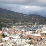 View over Lipari