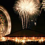 Ferris Wheel & Fireworks