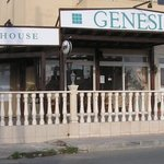 Genesis doesn't look much from outside but it's the food that counts