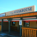 Exterior of the Silver Sage Steakhouse