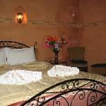 chambre double avec douche et climatisation
