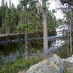 La rivière en façade de propriété