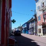 Streetscape in Saint Pierre