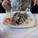 Tagliatelle Nere ai Crostacei