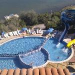 Une des piscines