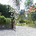Llanfor Village from Cysgod y Coed