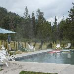 Drakesbad hot spring-fed pool