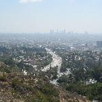 Blick auf LA
