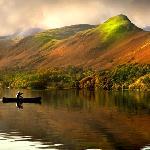 Canoeing below Catbells