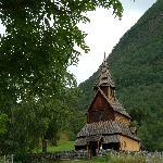 Die Stabkirche von Ornes