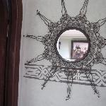 miroir chambre 13 hotel salsabil marrakech