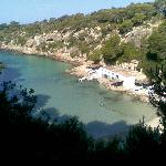 Cala Pi Beach- its a long was down the steps but worth it