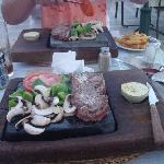 our steak