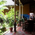 Central patio