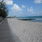 boardwalk to Accra Beach