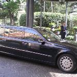 Limo of the hotel