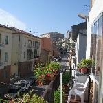 Panorama dal terrazzo: RECANATI