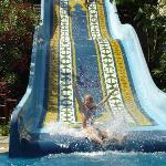 Children's waterslide