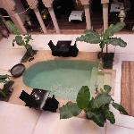 another pool and lounging/dining area
