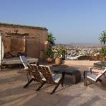 Riad Laaroussa - Dachterrasse 1