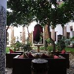 Riad Laaroussa - Innenhof 1