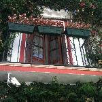Balkon des Boraqay-Zimmers