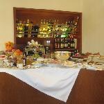 A gourmet breakfast at Petronilla Hotel