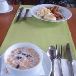 parte del desayuno