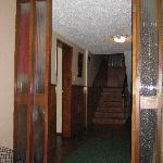 hallway to enter hotel