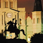 Saint Louis Cathedral and Andrew Jackson Statue