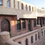 couloir terasse riad salsabil marrakech