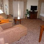 large suite area