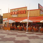 hooters- the coldest beer in town!