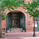 Front entrance at 211 N. Record Street