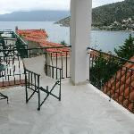 Balcony and view of the bay