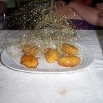 Another desert, truffles with sugar. (I think!)