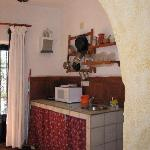 kitchen of the cave -fully equiped