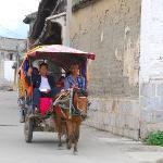Warp speed village transportation.