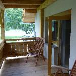 Riesiger Balkon