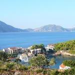 Assos town from Agapi villa